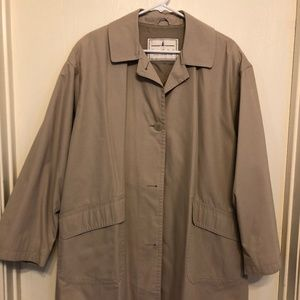 90s Mid-Length Trench Coat